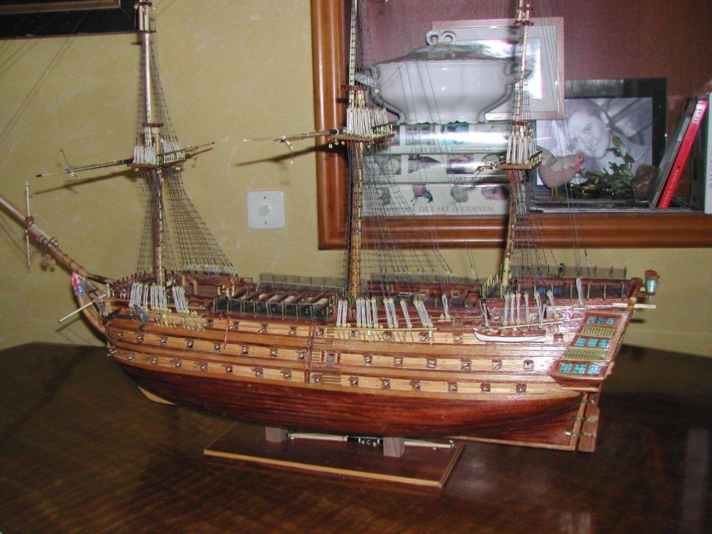 maquette du bateau en bois hms victory. Black Bedroom Furniture Sets. Home Design Ideas